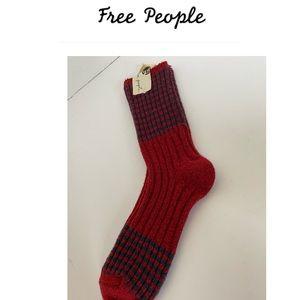 NWT Free People crew socks OS very soft